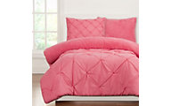 Sis Covers Playful Plush Cotton Candy 2-Piece Twin Comforter