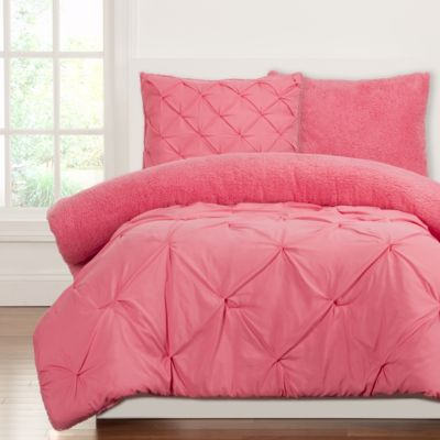 Sis Covers Playful Plush Cotton Candy 3-Piece Full/Queen Comf