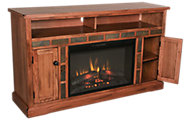 Sunny Designs Sedona TV Console with Fireplace