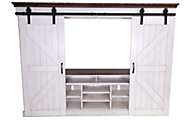 Sunny Designs Bourbon County Barn Door Entertainment Center
