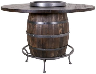 Sunny Designs Homestead Barrel Counter Table