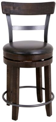 Sunny Designs Homestead Counter Stool with Back