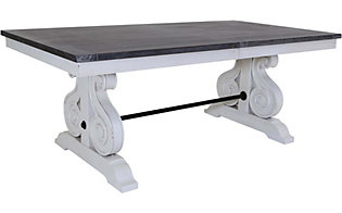 Sunny Designs Carriage House Trestle Table