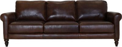 Soft Line America 7474 Collection 100% Leather Sofa
