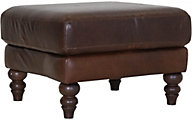 Soft Line America 7474 Collection 100% Leather Ottoman
