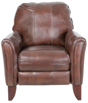 Southern Motion Brecken Leather High-Leg Recliner
