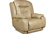 Southern Motion Cresent Leather Power Rocker Recliner