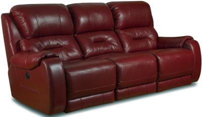 Southern Motion Sting Leather Power Reclining Sofa