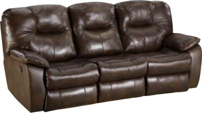 Southern Motion Avalon Reclining Sofa with Drop Down Table
