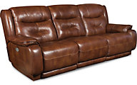 Southern Motion Cresent Leather Power Reclining Sofa