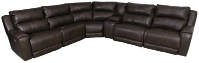 Southern Motion Dazzle 6-Piece Reclining Leather Sectional