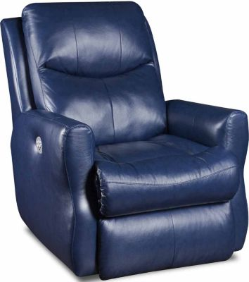 Southern Motion Fame Leather Power Rocker Recliner
