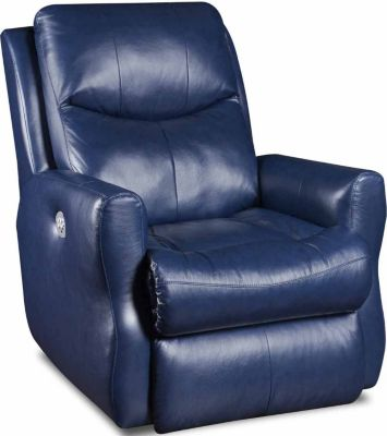 Southern Motion Fame Leather Lay-Flat Recliner