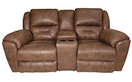 Southern Motion Pandora Reclining Console Loveseat