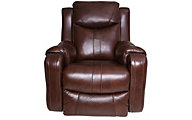Southern Motion Marvel Leather Power Rocker Recliner