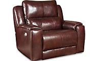 Southern Motion Dazzle Leather Chair & 1/2 w/Power Headrest