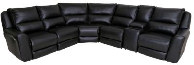 Southern Motion Producer 6-Piece Power Recline Sectional