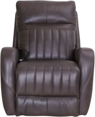Southern Motion Racetrack So Cozi Leather Rocker