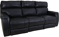 Southern Motion High Rise Leather Power Headrest Sofa