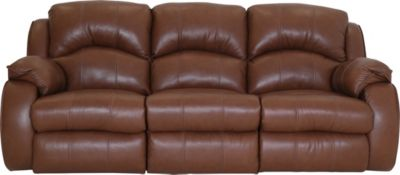 Southern Motion Cagney Leather Power Headrest Sofa