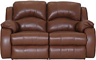 Southern Motion Cagney Leather Power Motion Loveseat