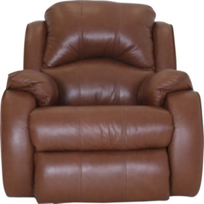 Southern Motion Cagney Leather Power Headrest Recliner