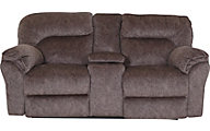 Southern Motion Full Ride Power Headrest Loveseat with Console