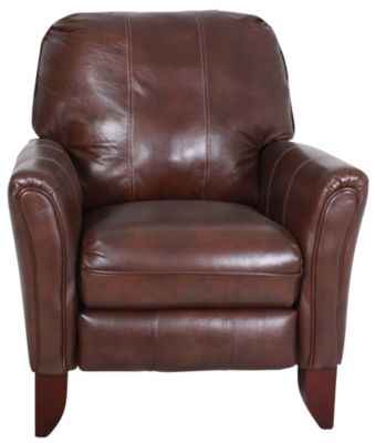 Southern Motion Kranston Leather High-Leg Recliner