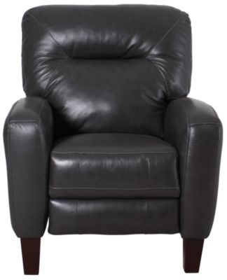 Soho Leather High-Leg Recliner