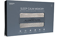 Fashion Bed Group Sleep Calm Memory Foam Standard Pillow