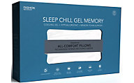 Fashion Bed Group Sleep Chill Gel Memory Foam King Pillow
