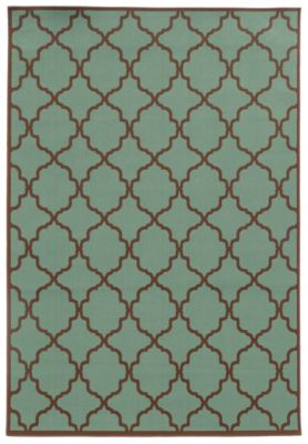 Sphinx Riviera Sage 5' X 8' Outdoor Rug