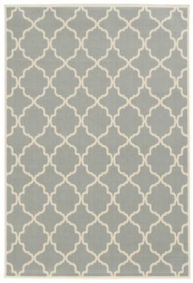 Sphinx Riviera Gray 5' X 8' Outdoor Rug