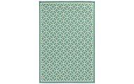 Sphinx Riviera Green 5' X 8' Outdoor Rug