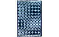 Sphinx Riviera Navy 5' X 8' Outdoor Rug