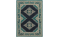 Sphinx Highlands Blue/Green 7' X 10' Rug