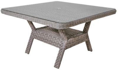 South Sea Rattan Mayfair All-Weather Wicker Outdoor Dining Table