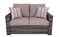 South Sea Rattan Java All-Weather Outdoor Loveseat