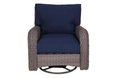 South Sea Rattan St Tropez All Weather Swivel Glider