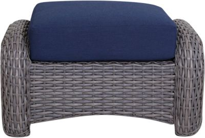 South Sea Rattan St Tropez Ottoman