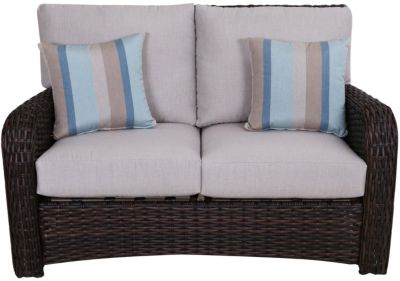 South Sea Rattan St Tropez All Weather Loveseat