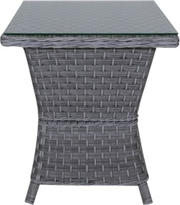 South Sea Rattan End Table