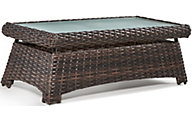 South Sea Rattan St. Tropez Tobacco Outdoor Coffee Table