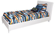 Standard Furniture Fantasia White Twin Bed