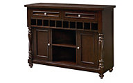 Standard Furniture McGregor Sideboard With Wine Rack
