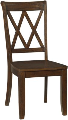 Standard Furniture Vintage Brown Side Chair