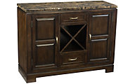 Standard Furniture Bella Buffet with Wine Rack