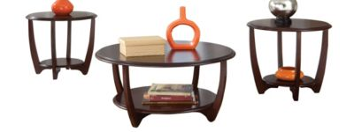 Standard Furniture Seattle II Coffee Table & 2 End Tables