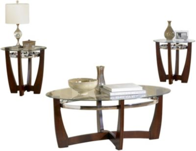 Standard Furniture Apollo Coffee Table & 2 End Tables