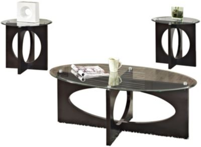 Standard Furniture Dania Coffee Table & 2 End Tables
